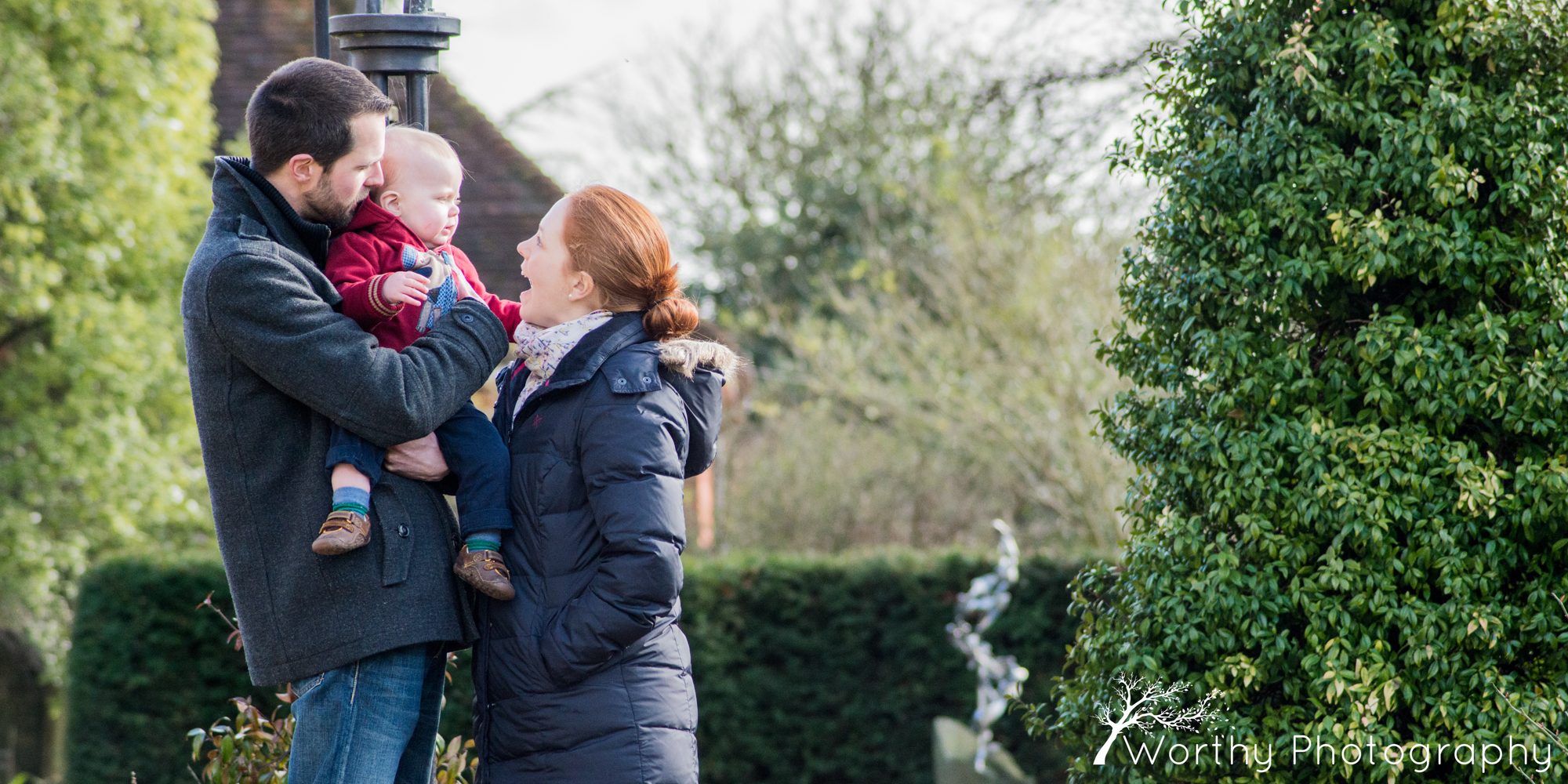 Family photoshoot at the Dean Garnier Garden –  in Winchester