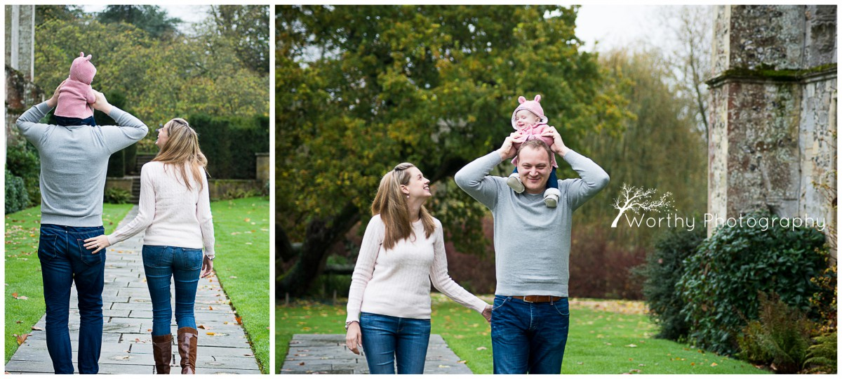 Baby Photography at Mottisfont