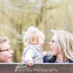 Family Photoshoot at The Abbey Gardens, Winchester