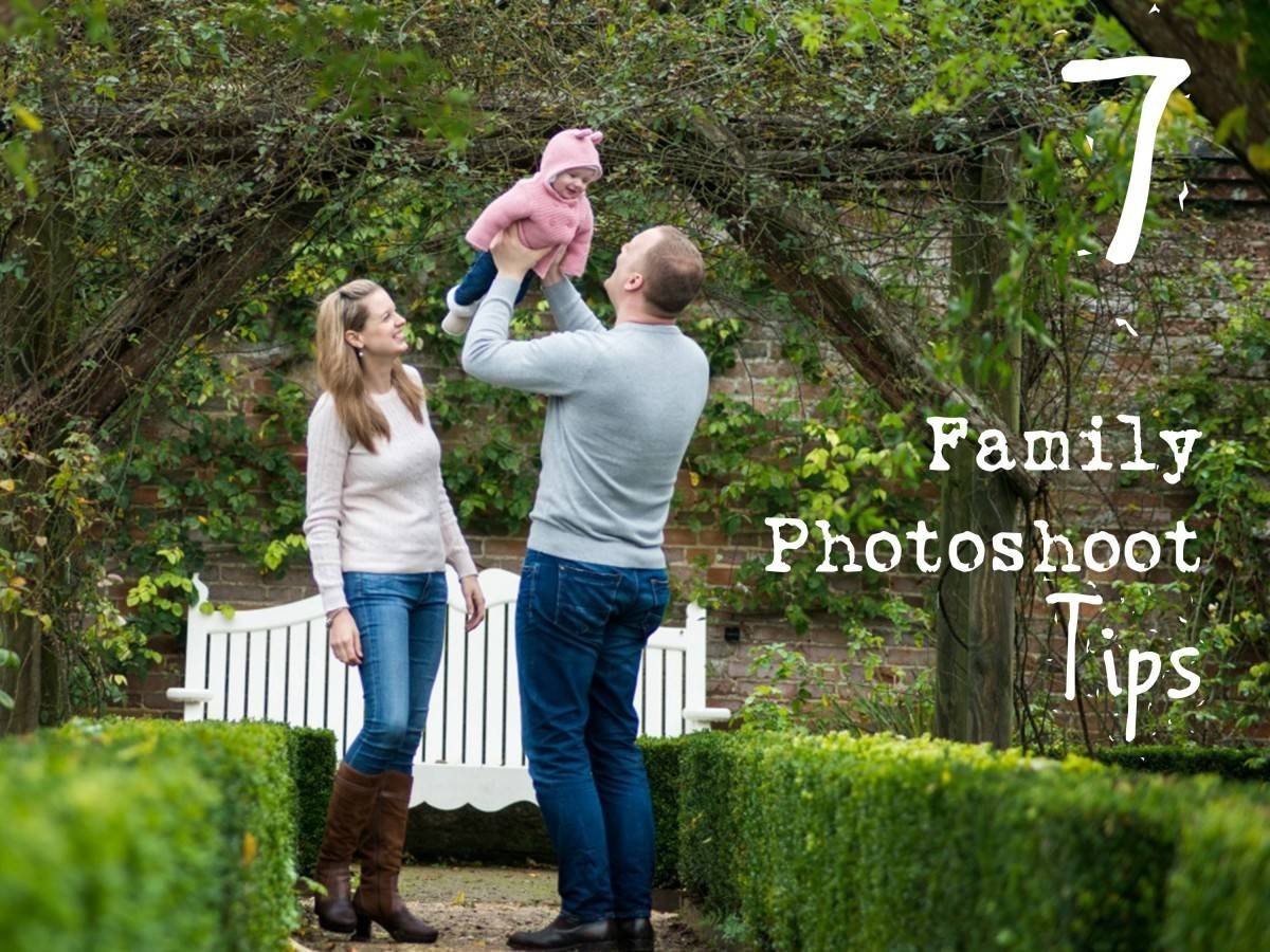 7 Family Photoshoot Tips