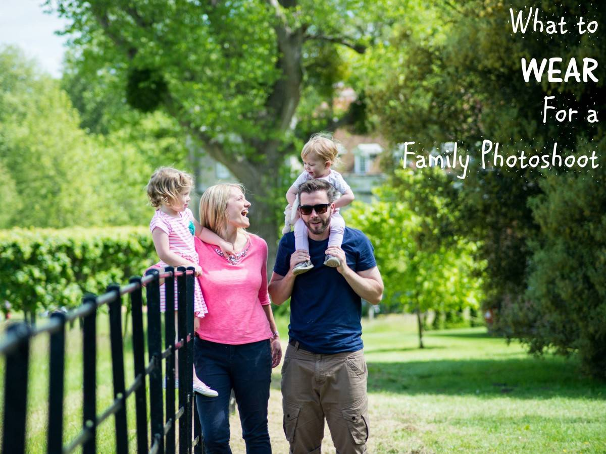 What To Wear For A Family PHotoshoot
