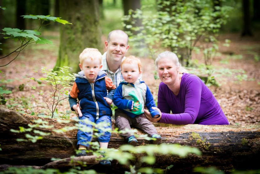 Family photoshoot in Micheldever Woods