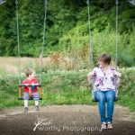 Family Portrait Session in Winchester - The Crawfords