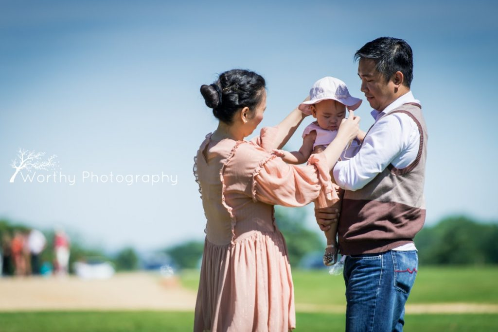 Highclere Castle Family Photoshoot