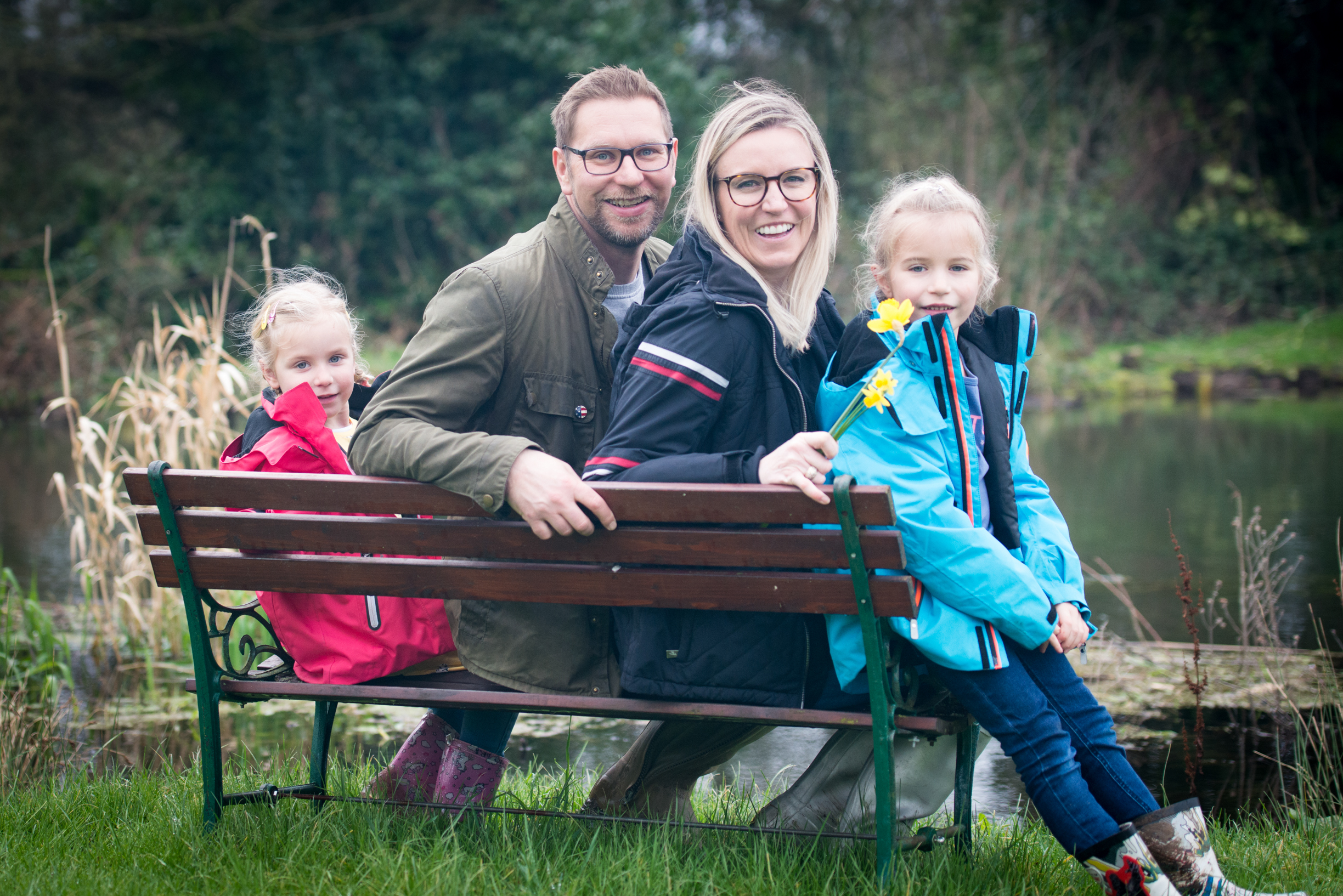 Family Photoshoot in Twyford